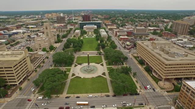 Aerial Indiana Indianpolis