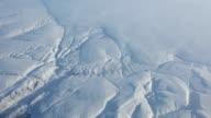 Aerial landscape of Arctic