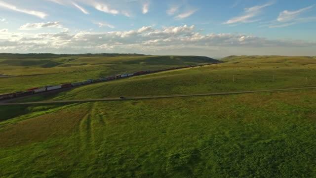 Luchtfoto Montana platteland