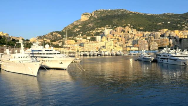 Aerial Monte Carlo sunrise coastline vacation tourism sea