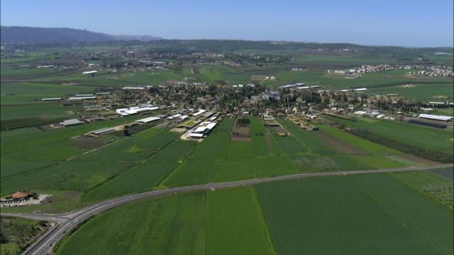Aerial Moshav Nahalal, Jezreel Valley, Israel, Nahalal, Galilee, Israel