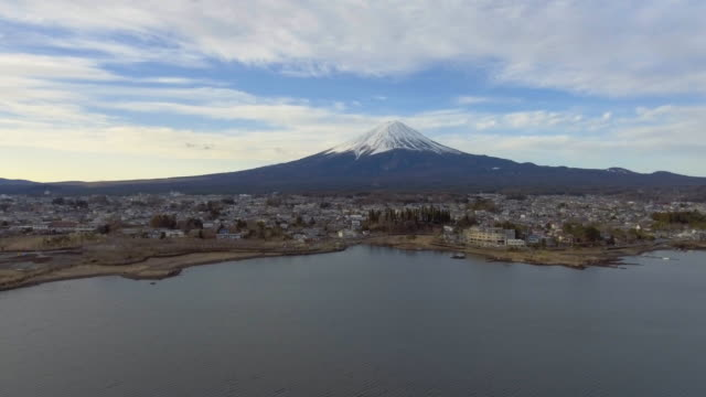 Aerial :Mt. Fuji , Japan