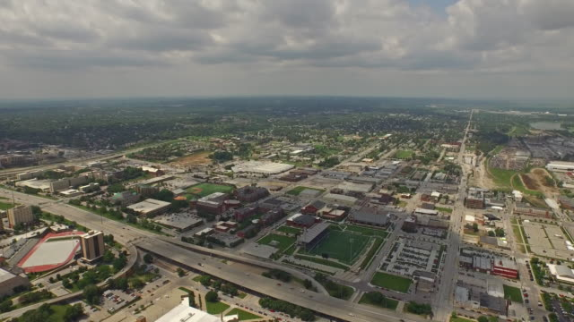 Aerial Nebraska Omaha