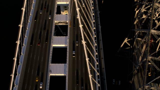 Aerial New Bay Bridge old Bay Bridge