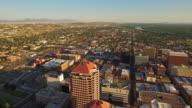 Luftbild von New Mexico Albuquerque entfernt.