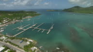 Aerial Of Falmouth Harbour Antigua