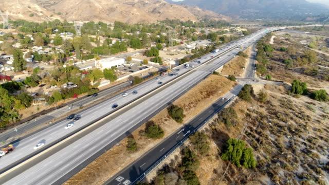 Luftaufnahme des Autobahn