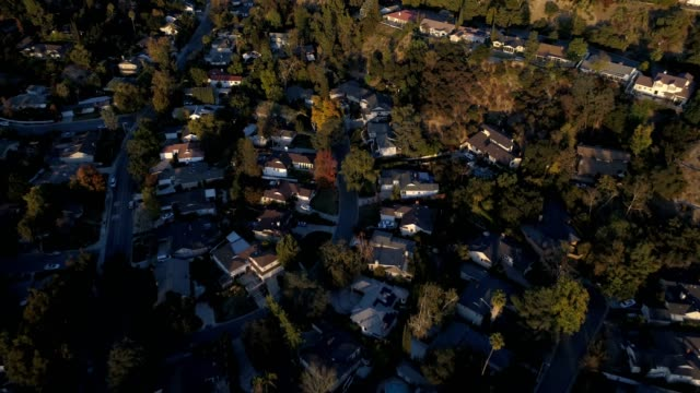 Aerial of Houses