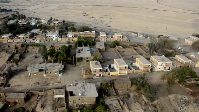 Aerial of Luxor Houses
