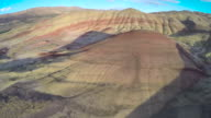 Aerial of Painted Hills