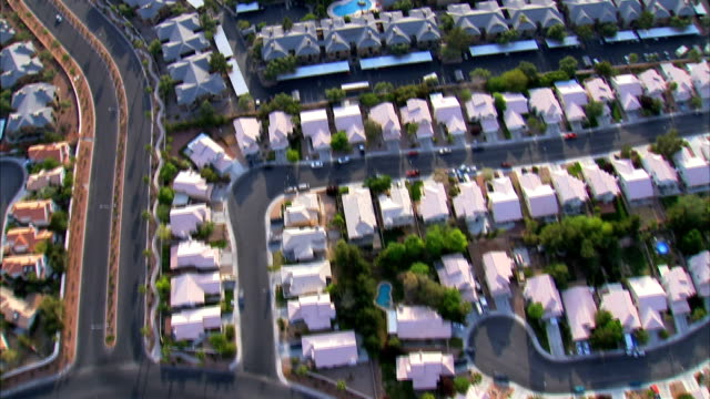 Aerial of Suburban Homes