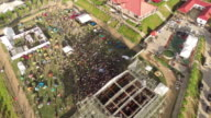 Aerial of the Midi Music Festival in Beijing - Main Stage.