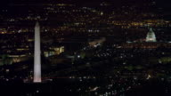 Aerial of Washington DC