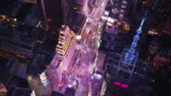 Aerial Orbit and Birds-Eye-View Times Square