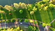 Aerial Oregon Bend