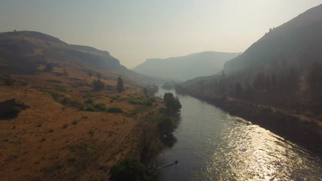 Aerial Oregon Fluss Deschutes