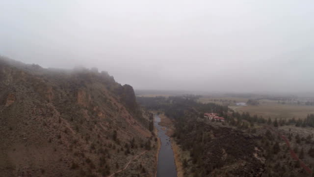 Aerial Oregon Smith Rocks