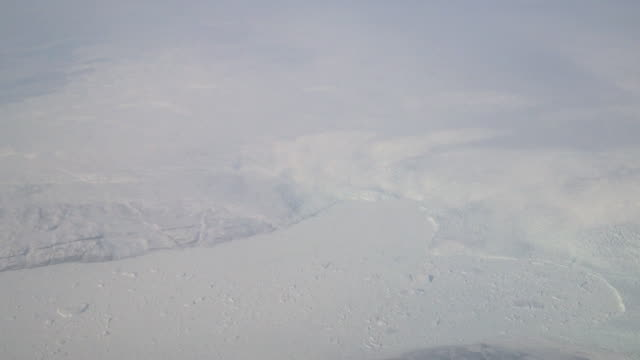 Aerial over the Artic Circle