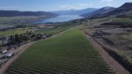 Aerial Pan of Farm Land