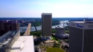 Aerial Panoramic of Richmond, Virginia