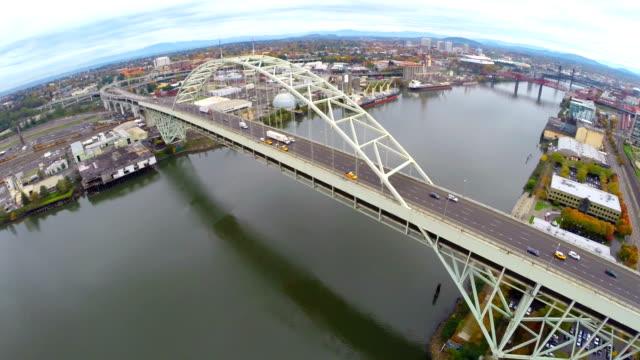 Aerial Portland NW Industrial