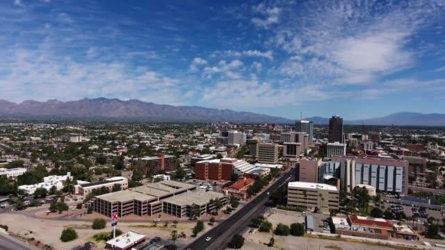 Aerial Pull Back Tucson Arizona