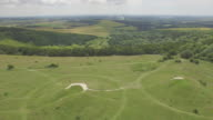 Aerial reveal of Bronze Age burial mounds
