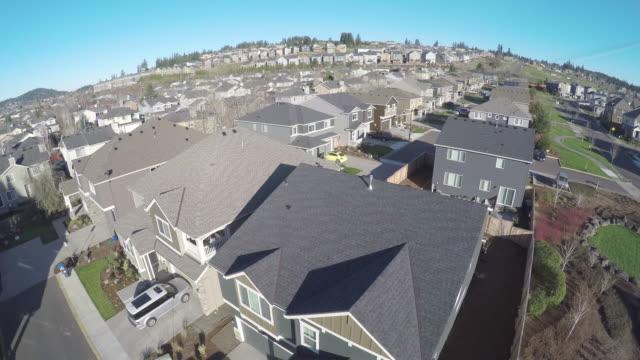 Aerial reveals suburbia