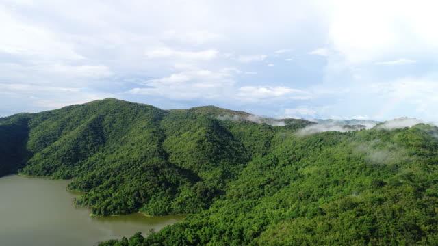 Aerial river dum