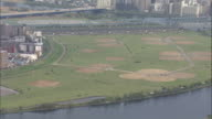 Aerial Riverbed Of Tamagawa