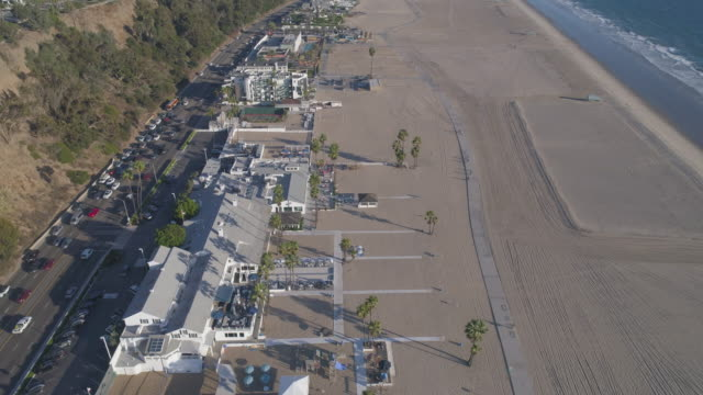Luchtfoto Santa Monica Beach, Los Angeles