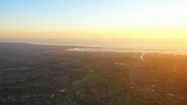 Luftaufnahme über dem California in 4 K
