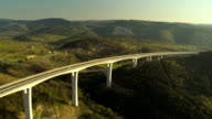 Aerial Shot Of A Viaduct