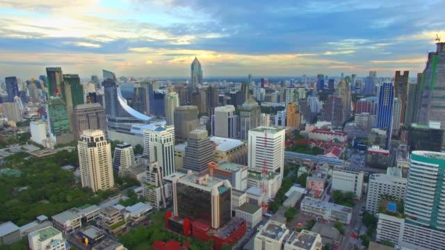 Aerial shot of Bangkok,Thailand