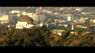 Aerial Shot of Griffith Observatory