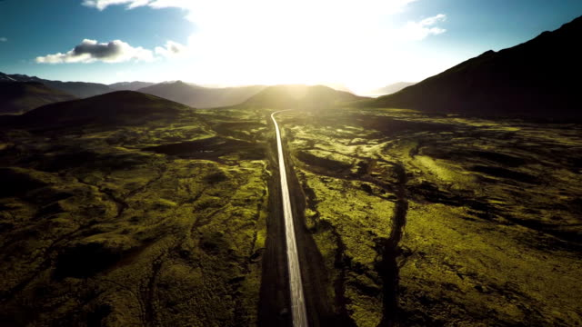Aerial shot of Iceland Landscape - Snaefellsnes