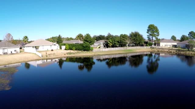 Aerial shot of Jacksonville neighborhood
