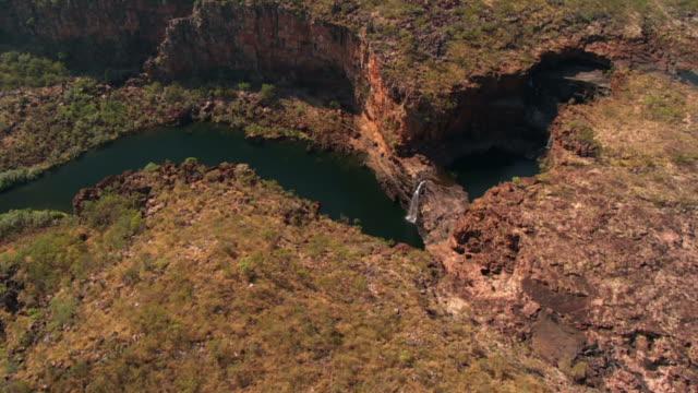 HD: Luftaufnahme von Mittchell Falls