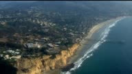 Aerial Shot of Pacific Coast in San Diego on September 20 2013 in San Diego California