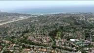 Aerial Shot of San Diego Coastline