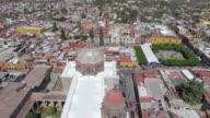 Aerial shot of San Miguel, Guanajuato