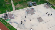 Aerial Shot of Skatepark