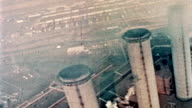 Aerial Shot of Smokestacks