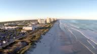 Veduta aerea di Jacksonville Beach