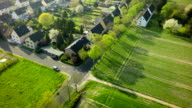 Aerial shot of Town in Germany