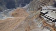 Aerial shots of area effected by the landslide Landslide on April 15 2013 in Bingham UT