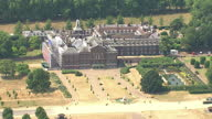 Aerial shots of Kensington Palace Palace gardens London City Summer Aerials on July 17 2013 in London England
