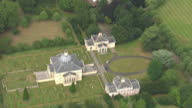 Aerial shots of Mereworth Castle a Grade 1 listed country house built in the Palladian style>> on July 29 2015 in Maidstone United Kingdom