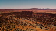 Aerial shots over the outback in Northern Territory of Australia.