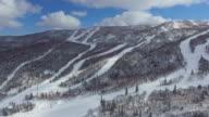 Aerial: Ski sport area